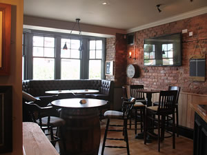 inside The Crown pub